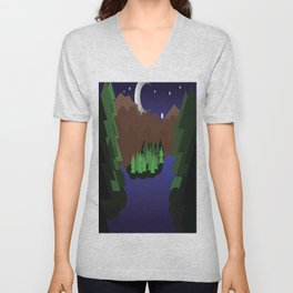 Night Chills Unisex V-Neck