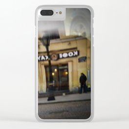 The reflected city 2 Clear iPhone Case