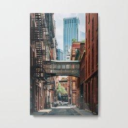 Staple Street Skybridge 02 Metal Print
