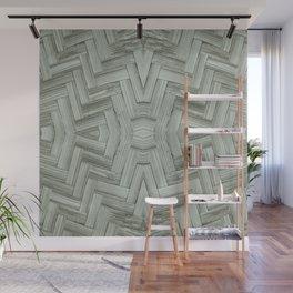 Basket Weave Wall Mural