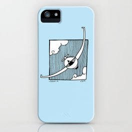 Gliding Ninja iPhone Case