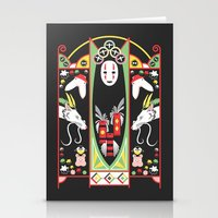 deco Stationery Cards featuring Spirited Deco by Ashley Hay