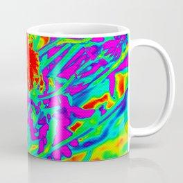 Psychedelic flower garden Coffee Mug