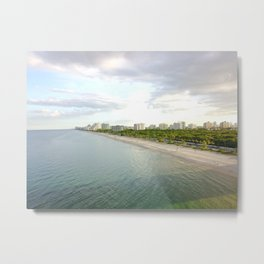 laudy beach Metal Print