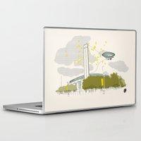 kris tate Laptop & iPad Skins featuring Tate Modern by KlaraBowPiechocki