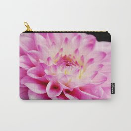 Close up pink dahlia Carry-All Pouch