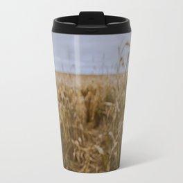 Blur Corn field Travel Mug