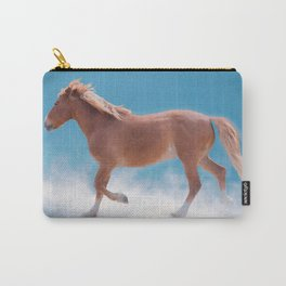 Walking on clouds over the blue sky - version #2 - #society6 #buyart Carry-All Pouch
