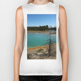 Amazing Hot Spring Colors Biker Tank