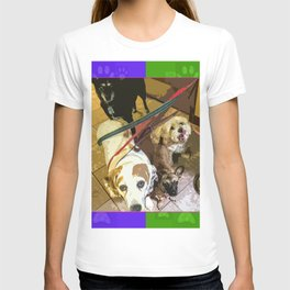 Roz, Buster, Peppy and Jamie T-shirt