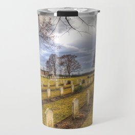 World War 2 War Graves Budapest Travel Mug