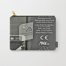 See Through iPhone Carry-All Pouch