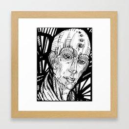 """The Keeper Of Light""  2013 Digital Ink Framed Art Print"