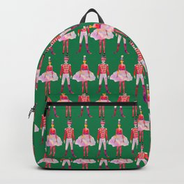 Nutcracker Ballet - Candy Cane Green Backpack