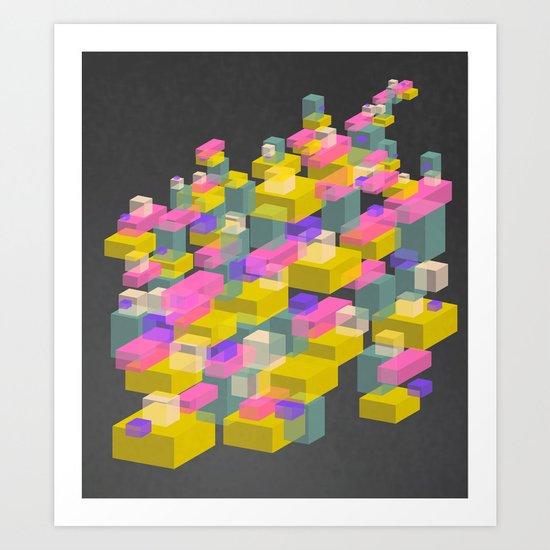 Cubes #2 Art Print
