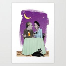 Dinner Art Print