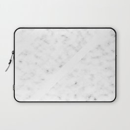 Marble Simplicity (White) Laptop Sleeve
