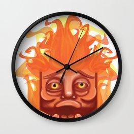 Sad Helios Wall Clock