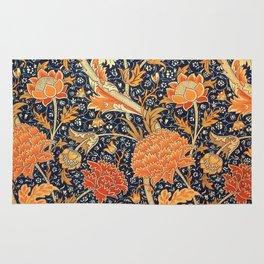 William Morris Cray Floral Art Nouveau Pattern Rug