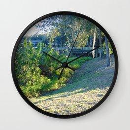 Florida Landscape Wall Clock