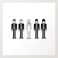 blondie Art Prints featuring Blondie by Band Land