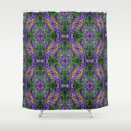 Wreaths of Lupines... Shower Curtain