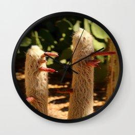 A Funny Sight Cacti Wall Clock