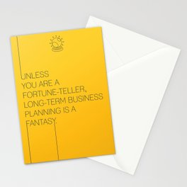 Startup Quote Poster Stationery Cards
