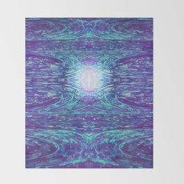 Neuron Reception Throw Blanket