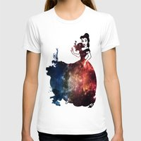 belle T-shirts featuring Belle by kaelynnmara