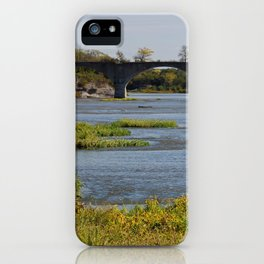 Sunkissed Maumee at Roche de Boeuf iPhone Case
