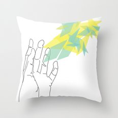Lines of Your Hand Throw Pillow
