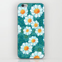 Hello Daisies iPhone Skin