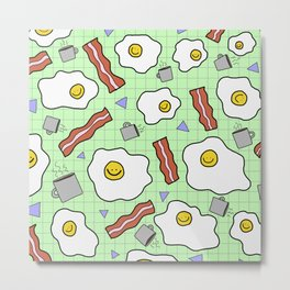 Breakfast Buddies Metal Print