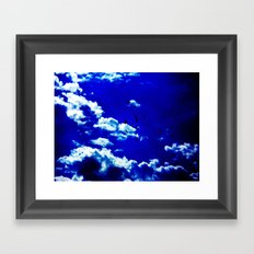 Liquid Sky Framed Art Print