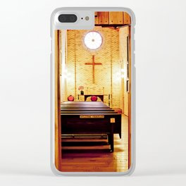 The Travelers Chapel Clear iPhone Case