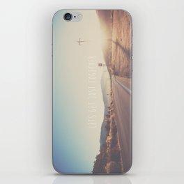 lets get lost together ...  iPhone Skin