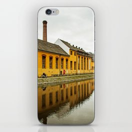 Motorcycle Reflection iPhone Skin