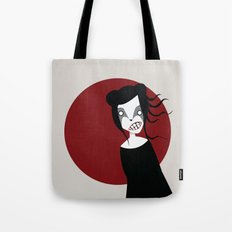 Red Moon Tote Bag