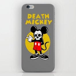death mickey iPhone Skin