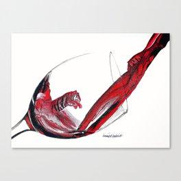 Wild Wine Canvas Print