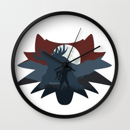 The beast hunt (v2) Wall Clock