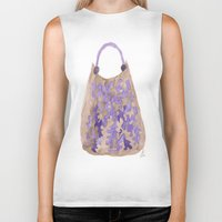 tote bag Biker Tanks featuring Tote 1 by ©valourine