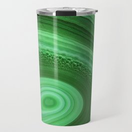 Green Agate Travel Mug