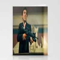 scarface Stationery Cards featuring SCARFACE by I Love Decor