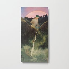 Mineral Spring Metal Print
