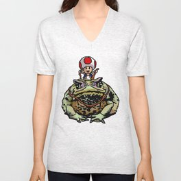 Toad Racing Unisex V-Neck