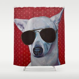 Sasha Fierce too Cool for School Shower Curtain