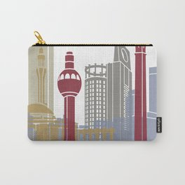 Jeddah skyline poster Carry-All Pouch
