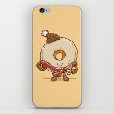 Bacon Scarf Maple Donut iPhone & iPod Skin